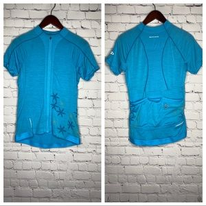 Icebreaker Back To Nature Rhythm Cycling Jersey S